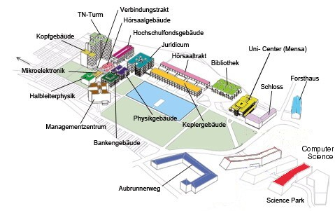 Photo: Science Park Map